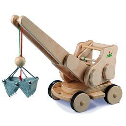 Echtholz Bagger - creamobil