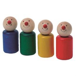 4 Spielfiguren creamobil - ergonomisch & vielseitig