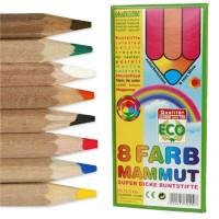 ökoNorm 8 Farbe Mammut Bundstifte extra dick