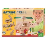 Matador Ki 3 Holzspielzeug mit Hammer 175tlg