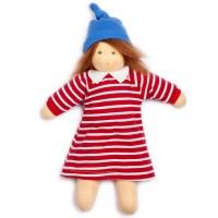 Bio Puppe Mimi mit Mohair Haaren