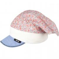 Blumen Kopftuch mit elastischem Stirnband