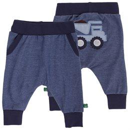 Kipper Fahrzeug Jeans Krabbelhose