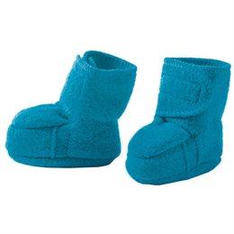 Warme Babyschuhe Klettverschluss Stoppern blau