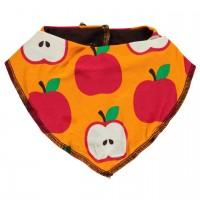 Apfel Dreiecktuch orange-rot