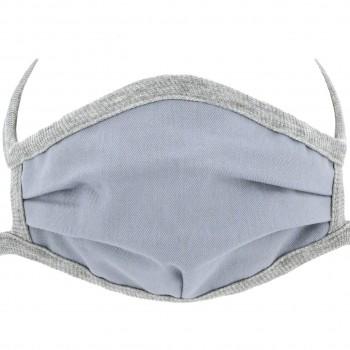 Wiederverwendbare Maske elastischen Bändern – Mundbedeckung grau