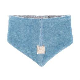 Nicki Dreiecktuch in denim-blau warm und kuschelig
