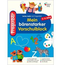 Vorschulblock ab 5 Jahre Mitmachbuch