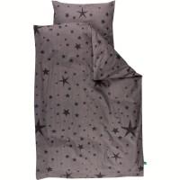 Babybettwäsche 70 x 100 cm Sterne für Wiege und Waagen