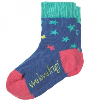 Mädchen Socken 1 Paar rosa Spitze Sternenhimmel