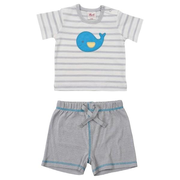 Leichtes Baby Shirt mit Shorts für Jungen