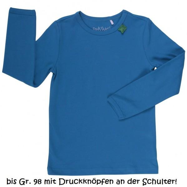 Anpassungsfähiges Basic Shirt oder als Unterhemd - jewel blu
