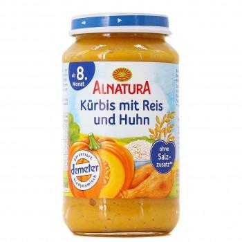 Kürbis, Reis & Huhn für Babys ab 8 Monaten (220g)