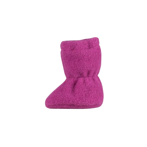 Super warme Mädchen Babyschuhe als Socke in beere