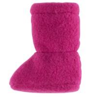 Super warme Babyschuhe als Socke pink