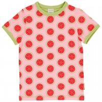 Kurzarmshirt Wassermelonen rosa