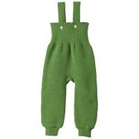 Vorschau: Baby Hose warm hochwertige Wolle grün