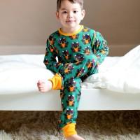 Drachen Kinder Schlafanzug leicht ganzjährig