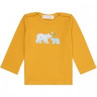 Shirt  langarm  Eisbären  senf