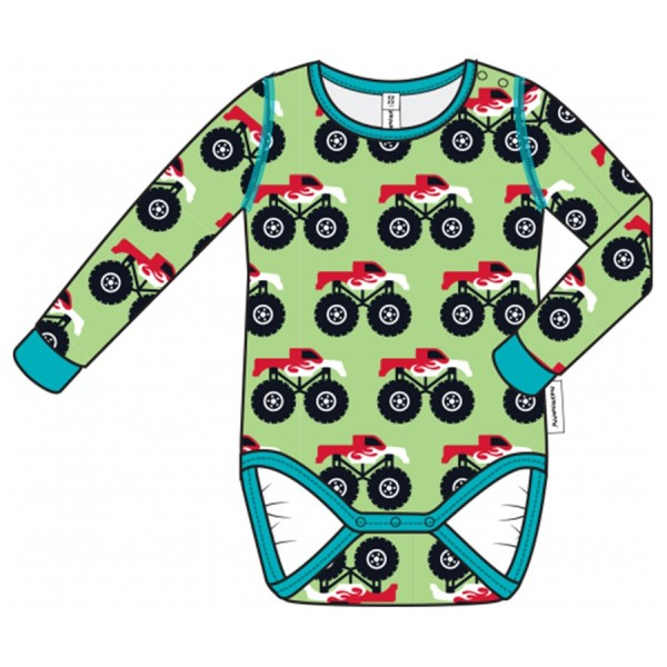 Monster Truck Bio Babybody langarm