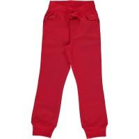 Robsute Kinderhose mit Rippbund verstellbar rot