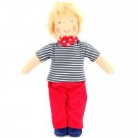 Bio Puppe zum Ankleiden  38 cm - Leo