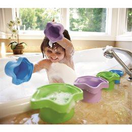robuste Stapelförmchen 6tlg. auch für Wasser- & Sandspiele