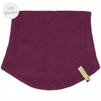 Schlauchschlal Fleece zum Wenden in lila