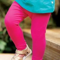 Leichte Leggings uni pink