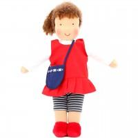 Bio Puppe zum Ankleiden 38 cm - Leni