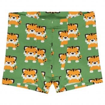 Boxershorts Tiger in grün