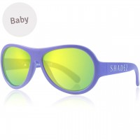 Baby flexible Sonnenbrille 0-3 Jahre uni lila polarisiert