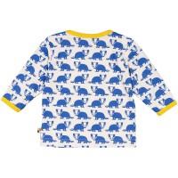 Vorschau: Bio Shirt Dachs blau