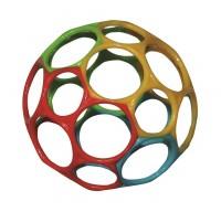 Oball Babyspielzeug 10 cm - gelb grün