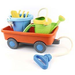 Set Sandspielzeug mit Handwagen für Kinder