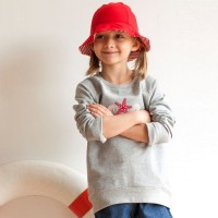 Bio Kinder Pullover Sweatshirt Meeresfeeling