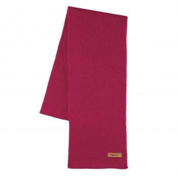 Kinder Schal Wolle Seide in pink