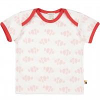 Kurzarm Shirt Fische rosa