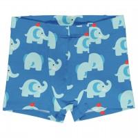 Boxershorts Elefanten in blau
