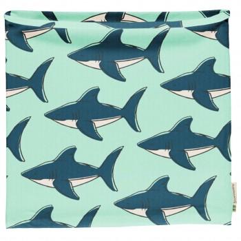 Schlauchschal leicht Haie in mint 98/104