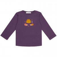 Igel Langarmshirt in lila