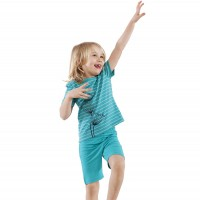 Schlafanzug aus weichem Jersey mit Pusteblume