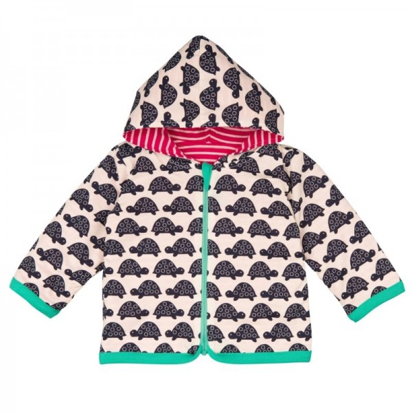 Loud and Proud Wendejacke mit 2 Motiven pink