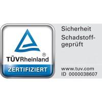 Vorschau: Anhänger Kunststoff Holz Gemisch - verzinkte Stahlachsen