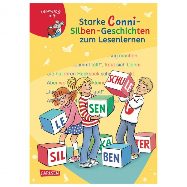 Starke Conni-Silben-Geschichten zum Lesenlernen ab 6 Jahren