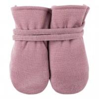 Bio Baby Handschuhe in altrosa