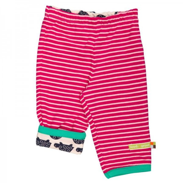 Wendehose von Loud and Proud mit 2 Motiven pink