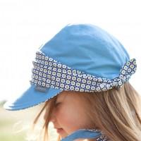 Vorschau: Sportliches Mädchen Capi pure pure aus Biobaumwolle - blau