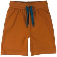 Leichte Jersey Shorts uni in braun