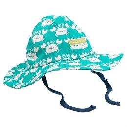 Leichte robuste Bio Sommer Mütze grün